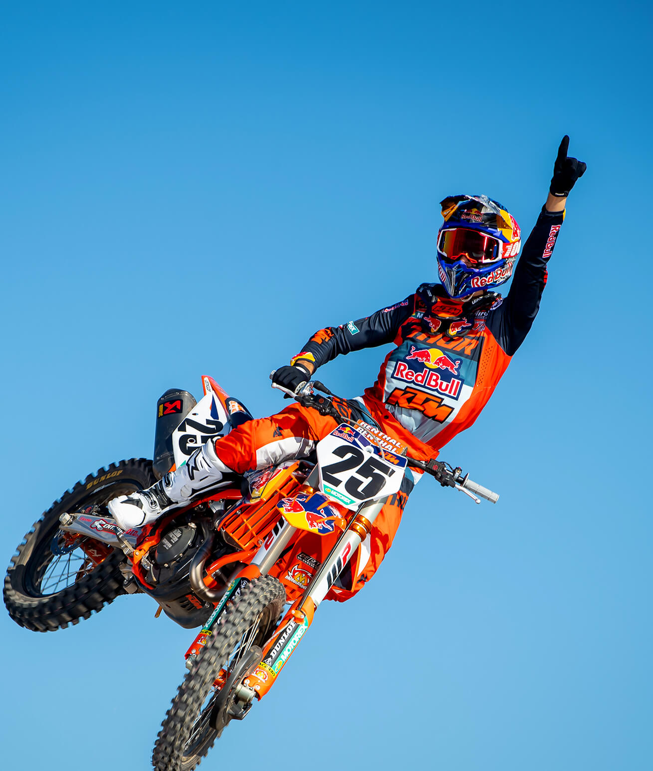 Marvin Musquin on a KTM Bike